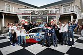 Winners #73 LA Honda World Racing Honda Civic TCR, TCR: Mike LaMarra, Mat Pombo and team, podium
