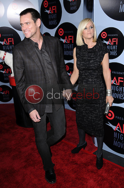 Jim Carrey and Jenny McCarthy<br />at AFI Night at the Movies presented by Target. Arclight Theater, Hollywood, CA. 10-01-08<br />Dave Edwards/DailyCeleb.com 818-249-4998