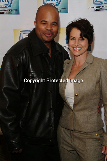 Claude Brooks &amp; Natalie Raitano<br />Jewish Television Network&rsquo;s 2003 Vision Award Gala honoring Paramount Television Production President Gerry Hart. <br />Beverly Hills Hotel<br />Beverly Hills, CA, USA<br />Thursday, December 11, 2003   <br />Photo By Celebrityvibe.com/Photovibe.com