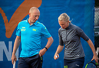 Zandvoort, Netherlands, 8 June, 2019, Tennis, Play-Offs Competition, Mixed doubles: Elyne Boeykens/Arko Zoutendijk<br /> Photo: Henk Koster/tennisimages.com