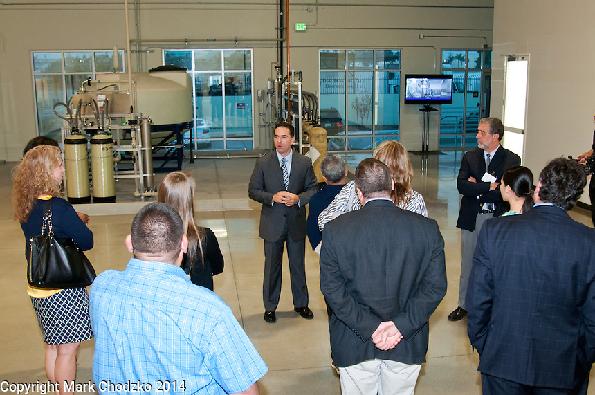 Prolacta executive gives tour of new facility during Grand Opening