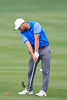 Jordan Smith (ENG) in action during the final round of the Volvo China Open played at Topwin Golf and Country Club, Huairou, Beijing, China 26-29 April 2018.<br /> 29/04/2018.<br /> Picture: Golffile | Phil Inglis<br /> <br /> <br /> All photo usage must carry mandatory copyright credit (&copy; Golffile | Phil Inglis)