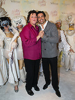 LAS VEGAS, NV - November 20 : Dot Marie Jones and Giles Marini pictured as The Venetian and The Palazzo kick off 2nd annual Winter in Venice on November 20, 2012 at The Venetian in Las Vegas, Nevada.  Credit: Kabik/ Starlitepics / MediaPunch Inc.