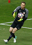 Atletico de Madrid's Jan Oblak during La Liga match. April 4,2017. (ALTERPHOTOS/Acero)