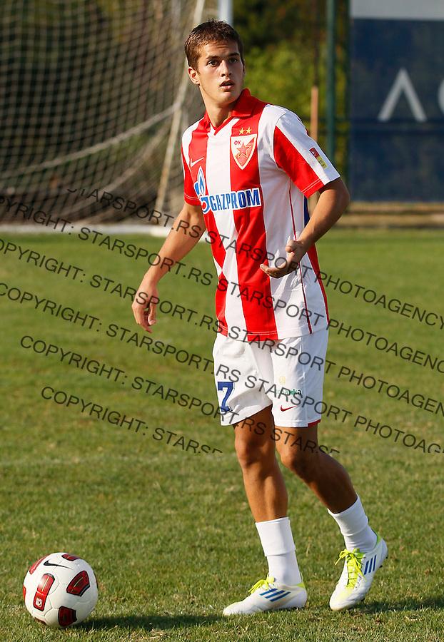 Fudbal, Jelen super liga, sezona 2011/12.Crvena Zvezda.Causic Goran.Belgrade, 01.09.2011..foto: Srdjan Stevanovic/Starsportphoto ©