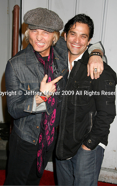 SANTA MONICA, CA. - May 13: Matt Sorum and Jonathon Schaech arrive at the Maxim's 10th Annual Hot 100 Celebration at The Barker Hangar on May 13, 2009 in Santa Monica, California.