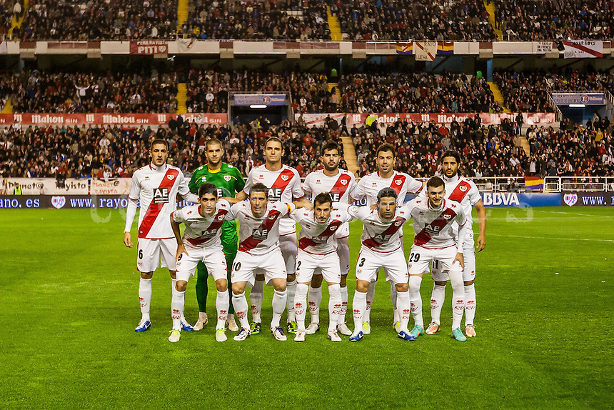 Rayo Vallecano team