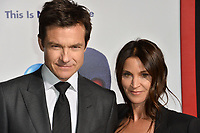 Jason Bateman &amp; Amanda Anka at the premiere for &quot;Game Night&quot; at the TCL Chinese Theatre, Los Angeles, USA 21 Feb. 2018<br /> Picture: Paul Smith/Featureflash/SilverHub 0208 004 5359 sales@silverhubmedia.com