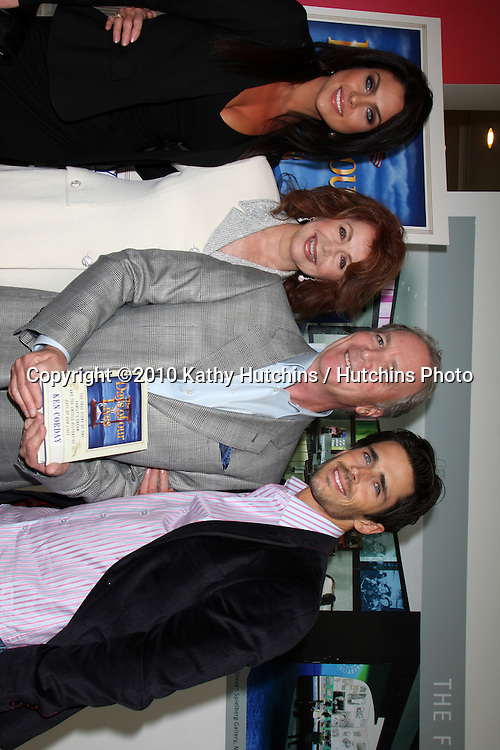 Nadia Bjorlin, Suzanne Rogers, Ken Corday, & Brandon Beemer.arriving at the Ken Corday Days of Our Lives Book Launch Party.Paley Center for Media.Beverly Hills, CA.April 29, 2010.©2010 Kathy Hutchins / Hutchins Photo...