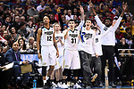 MILWAUKEE, WI - MARCH 18: The Purdue Boilermakers bench celebrates a basket during the first half of the 2017 NCAA Men's Basketball Tournament held at BMO Harris Bradley Center on March 18, 2017 in Milwaukee, Wisconsin. (Photo by Jamie Schwaberow/NCAA Photos via Getty Images)