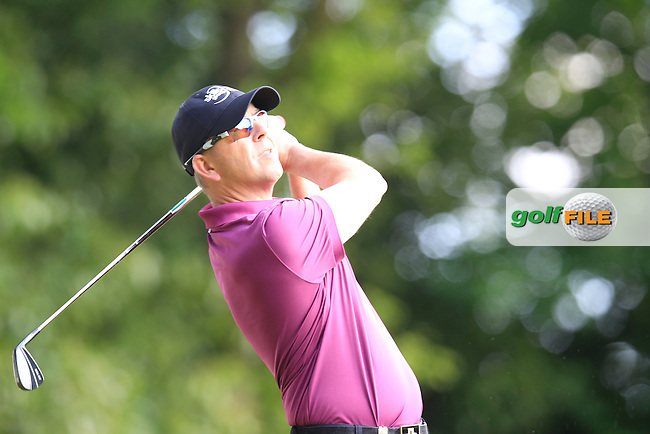 Scott DRUMMOND (SCO) during round 1 of the 2015 BMW PGA Championship over the West Course at Wentworth, Virgina Water, London. 21/05/2015<br /> Picture Fran Caffrey, www.golffile.ie: