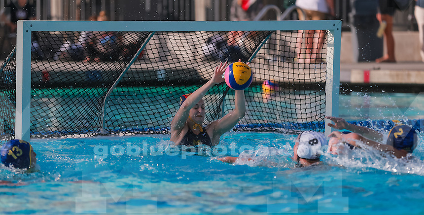 The University of Michigan water polo team defeated Long Beach State, 10-8, at the Collegiate Cup in Irvine, Calif., on Nov. 9, 2014.
