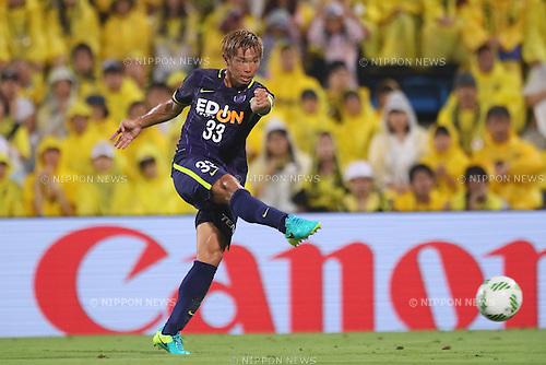 Tsukasa Shiotani (Sanfrecce), <br /> JULY 13, 2016 - Football /Soccer : <br /> 2016 J1 League 2nd stage match <br /> between Kashiwa Reysol 3-3 Sanfrecce Hiroshima <br /> at Kashiwa Hitachi Stadium, Chiba, Japan. <br /> (Photo by YUTAKA/AFLO SPORT)