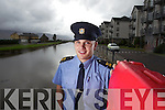Tralee Garda John Gilmartin who saved a man from the Basin in Tralee in the early hours of Saturday Morning.