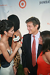 Jaslene Gonzalez Interviews Dr. Oz for Global Grind at Russell Simmons' 12th Annual Art for Life East Hampton Benefit, NY 7/30/11