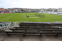 General view of the ground ahead of Yorkshire CCC vs Essex CCC, Specsavers County Championship Division 1 Cricket at Scarborough CC, North Marine Road on 6th August 2017