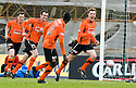 05/02/2011   Copyright  Pic : James Stewart.sct_jsp007_hamitlon_v_dundee_utd  .::  PAUL DIXON CELEBRATES AFTER HE SCORES DUNDEE UTD'S SECOND  ::.James Stewart Photography 19 Carronlea Drive, Falkirk. FK2 8DN      Vat Reg No. 607 6932 25.Telephone      : +44 (0)1324 570291 .Mobile              : +44 (0)7721 416997.E-mail  :  jim@jspa.co.uk.If you require further information then contact Jim Stewart on any of the numbers above.........