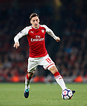 Arsenal's Mesut Ozil in action during the premier league match at the Emirates Stadium, London. Picture date 25th September 2017. Picture credit should read: David Klein/Sportimage