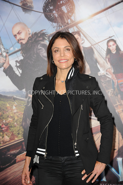 WWW.ACEPIXS.COM<br /> October 4, 2015 New York City<br /> <br /> Bethenny Frankel attending the 'Pan' New York Premiere arrivals at Ziegfeld Theater on October 4, 2015 in New York City.<br /> <br /> Credit: Kristin Callahan/ACE Pictures<br /> <br /> Tel: (646) 769 0430<br /> e-mail: info@acepixs.com<br /> web: http://www.acepixs.com