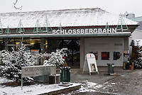 Bergstation der Schlossbergbahn, Graz, Steiermark, &Ouml;sterreich<br /> Hillstatton of Schlossbergbahn, Graz, Styria, Austria