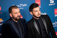 Felix Sabroso and Jau Fornes attends to the photocall of the Gala Sida at Palacio de Cibeles in Madrid. November 21, 2016. (ALTERPHOTOS/Borja B.Hojas) //NORTEPHOTO.COM
