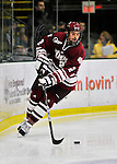 22 November 2011: University of Massachusetts Minutemen forward Mike Busillo, a Freshman from Wallingford, CT, in action against the University of Vermont Catamounts at Gutterson Fieldhouse in Burlington, Vermont. The Catamounts defeated the Minutemen 2-1 in their annual pre-Thanksgiving meeting of the Hockey East season. Mandatory Credit: Ed Wolfstein Photo