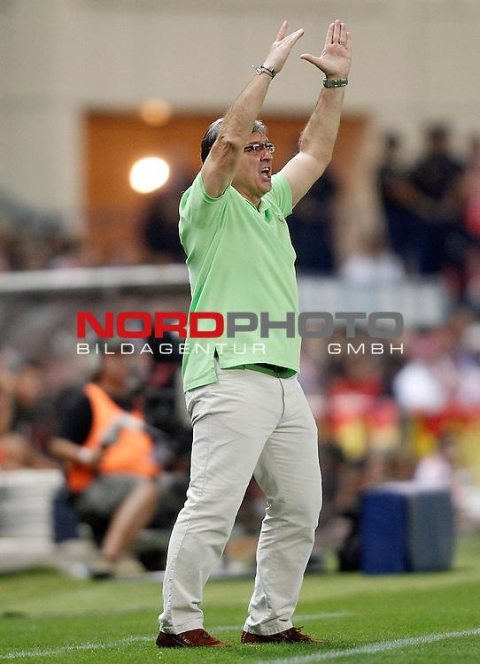 FC Barcelona's coach Gerardo Tata Martino during Supercup of Spain 1st match.August 21,2013. Foto © nph / Acero)