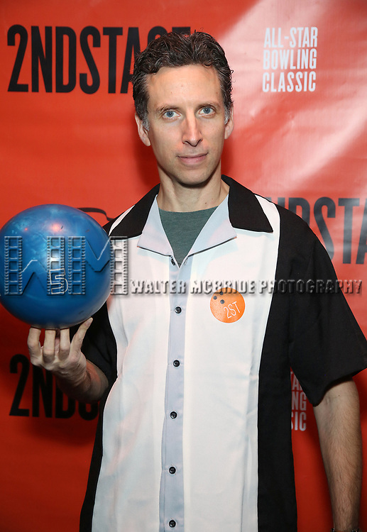 Ben Shenkman attends the Second Stage Theatre 2018 Bowling Classic at Lucky Strike  on February 12, 2018 in New York City.