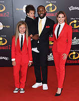 05 June 2018 - Hollywood, California - Stephen tWitch Boss, Allison Holker . Disney Pixar's &quot;Incredibles 2&quot; Los Angeles Premiere held at El Capitan Theatre. <br /> CAP/ADM/BT<br /> &copy;BT/ADM/Capital Pictures
