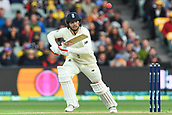 3rd December 2017, Adelaide Oval, Adelaide, Australia; The Ashes Series, Second Test, Day 2, Australia versus England; Mark Stoneman of England plays to the off side for runs