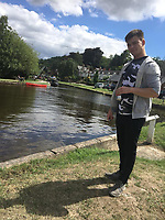 Pictured: Corey Sharpling, who has been named locally as the young man who died when a landslide hit the A484 road in Cwmduad near Carmarthen, Wales, UK.<br /> Re: A landslide caused by Storm Callum has caused the death of 21 year old Corey Sharpling in Cwmduad, near Carmarthen, in west Wales, UK.