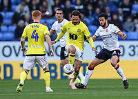 Blackburn Rovers' Bradley Dack under pressure from Bolton Wanderers' Jason Lowe<br /> <br /> Photographer Andrew Kearns/CameraSport<br /> <br /> The EFL Sky Bet Championship - Bolton Wanderers v Blackburn Rovers - Saturday 6th October 2018 - University of Bolton Stadium - Bolton<br /> <br /> World Copyright &copy; 2018 CameraSport. All rights reserved. 43 Linden Ave. Countesthorpe. Leicester. England. LE8 5PG - Tel: +44 (0) 116 277 4147 - admin@camerasport.com - www.camerasport.com