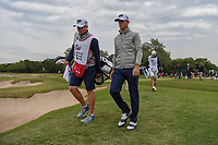 Billy Horschel (USA) heads for 15 during Round 2 of the Valero Texas Open, AT&T Oaks Course, TPC San Antonio, San Antonio, Texas, USA. 4/20/2018.<br /> Picture: Golffile | Ken Murray<br /> <br /> <br /> All photo usage must carry mandatory copyright credit (© Golffile | Ken Murray)