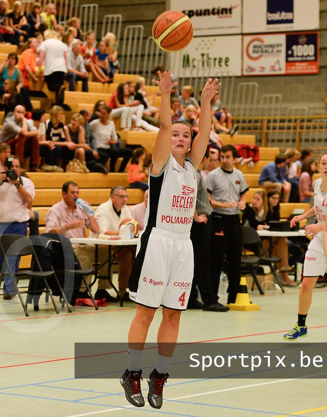 DBC Waregem : Inge Meylemans <br /> foto VDB / BART VANDENBROUCKE