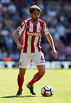 Joe Allen of Stoke City during the premier league match at the Hawthorn's Stadium, West Bromwich. Picture date 27th August 2017. Picture credit should read: Simon Bellis/Sportimage