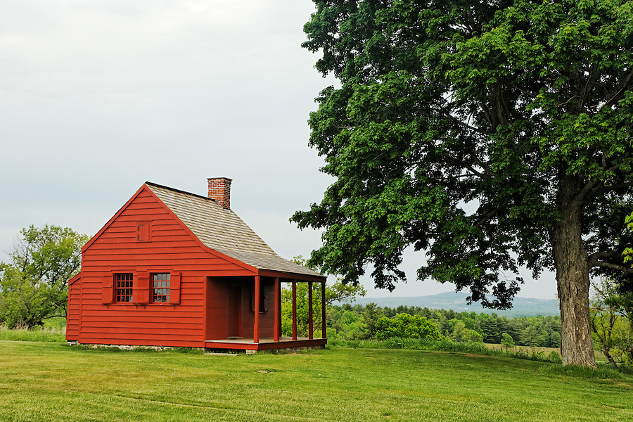 John Neilson Farmhouse, Saratoga National Historic Park, Stillwater, New York, USA