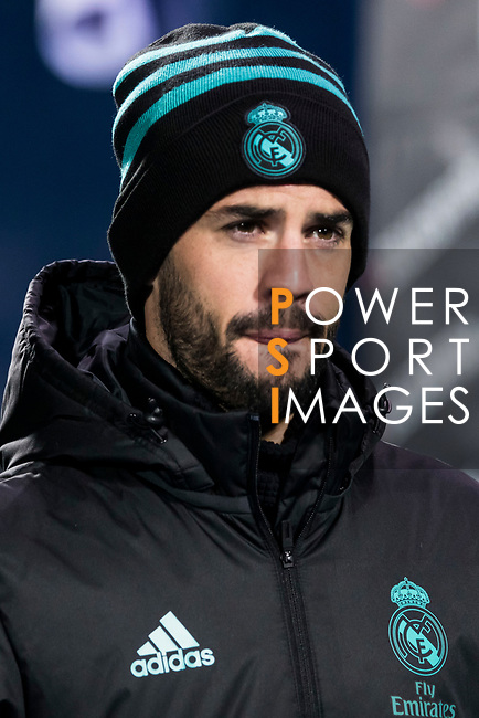 Isco Alarcon of Real Madrid looks on prior to the Copa del Rey 2017-18 match between CD Leganes and Real Madrid at Estadio Municipal Butarque on 18 January 2018 in Leganes, Spain. Photo by Diego Gonzalez / Power Sport Images