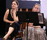 Laura Michelle Kelly and Harriet Harris during the Rehearsal of the  Barrington Stage Company production of 'The Royal Family of Broadway', the new musical by William Finn and Rachel Sheinken, at Ripley Grier Studios on May 11, 2018 in New York City.