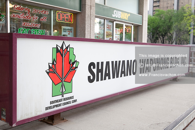 The Shawano-Wapunong Building is pictured in Winnipeg Sunday May 22, 2011. Shawano-Wapunong Building Inc. is owned and operated equally by the nine First Nations of the Southeast Resource Development Council Corp. (SERDC)