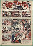 Portada de la publicación infantil Rin-Tin-Tin, editada en Barcelona. Año 1932.