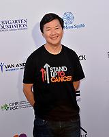 SANTA MONICA, CA. September 07, 2018: Ken Jeong at the 2018 Stand Up To Cancer fundraiser at Barker Hangar, Santa Monica Airport.