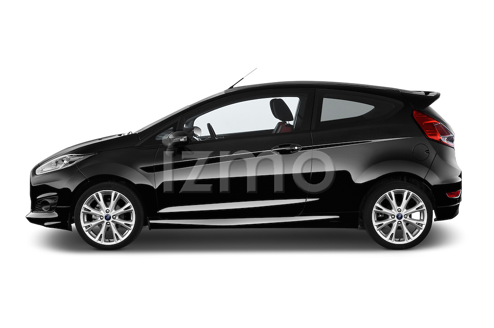 Car Driver side profile view of a 2014 Ford FIESTA Sport 3 Door Hatchback 2WD Side View