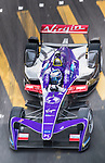 Sam Bird of Great Britain from DS Virgin Racing on track at the Formula E Non-Qualifying Practice 3 during the FIA Formula E Hong Kong E-Prix Round 2 at the Central Harbourfront Circuit on 03 December 2017 in Hong Kong, Hong Kong. Photo by Victor Fraile / Power Sport Images