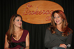 All My Children's Chrishell Stause & Jamie Luner  came to see fans on November 22, 2009 at the Brokerage Comedy Club & Vaudeville Cafe, Bellmore, NY for a Q & A, autographs and photos. (Photo by Sue Coflin/Max Photos)