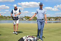 Justin Rose (ENG) departs 6 during round 2 of the Arnold Palmer Invitational at Bay Hill Golf Club, Bay Hill, Florida. 3/8/2019.<br />