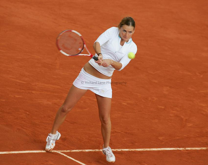 Photo: Iconsport/Richard Lane Photography..Roland Garros 2006..31/05/2006..Iveta Benesova.