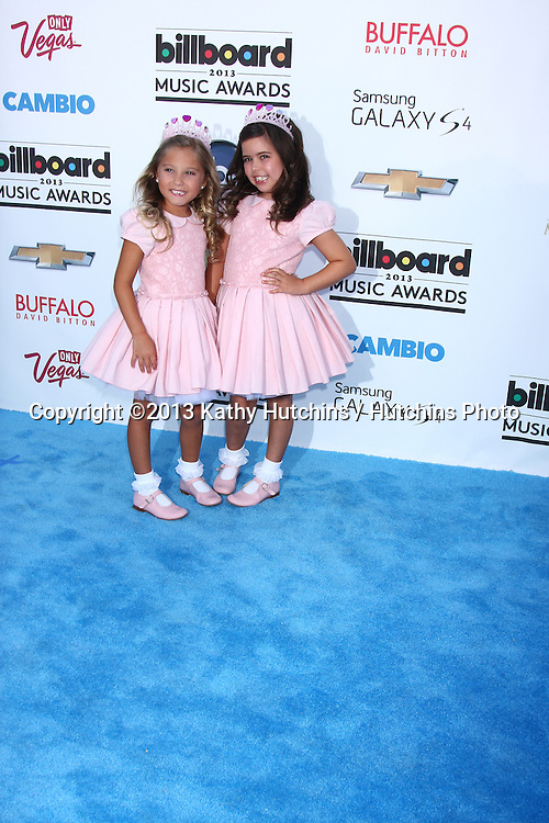 LOS ANGELES -  MAY 19:  Rosie McClelland, Sophia Grace Brownlee arrives at the Billboard Music Awards 2013 at the MGM Grand Garden Arena on May 19, 2013 in Las Vegas, NV