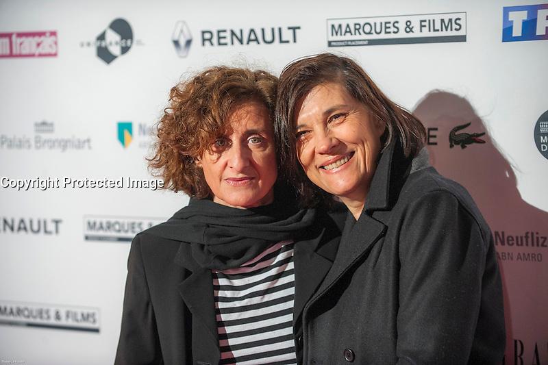 Catherine Corsini ‡ la soirÈe des TrophÈes du Film FranÁais 2017 au Palais Brongniart ‡ Paris le 2 fÈvrier 2017. # TROPHEES DU FILM FRANCAIS 2017