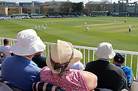 Spectators wear sun hats as they look on during Essex CCC vs Lancashire CCC, Specsavers County Championship Division 1 Cricket at The Cloudfm County Ground on 7th April 2017