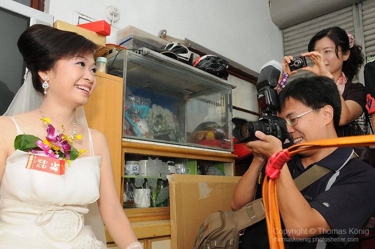 Taiwanese Wedding -- The bride.